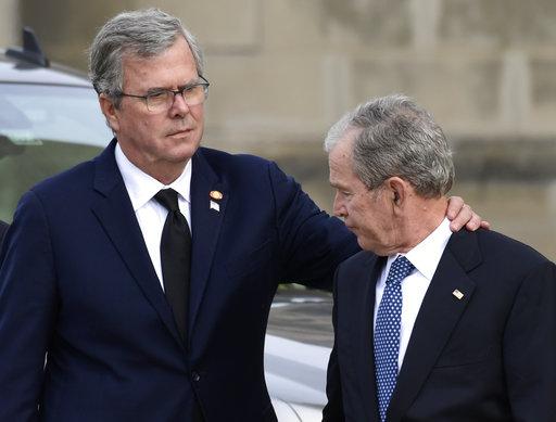 George W Bush, Jeb Bush