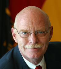 Bundesverteidigungsminister Dr. Peter Struck