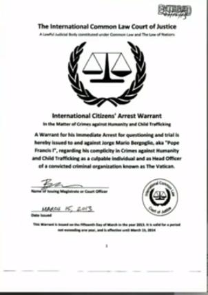 arresteringsorder