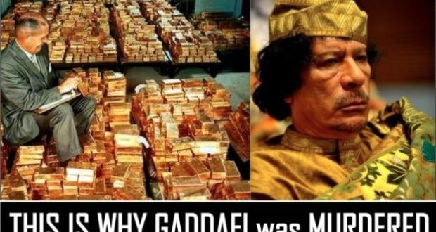 Libya-Gaddafi-gold