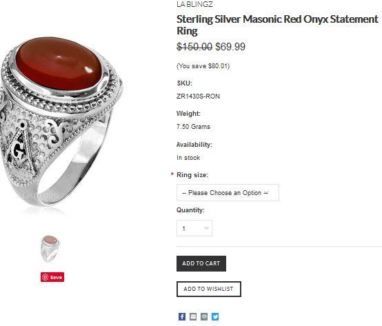 Masonic-ring