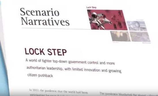 lock-step