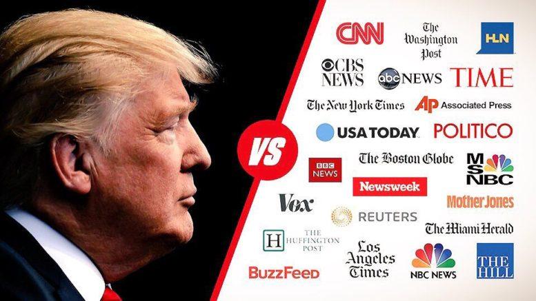 Nyhetsbanken: Jan Myrdal: Om medierna har Trump rätt