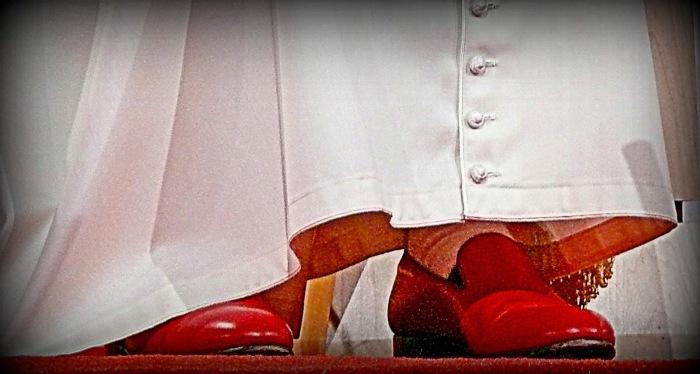 Carolina lever...: Hade Jesus röda skor?