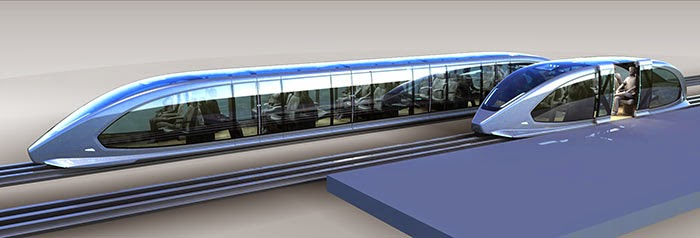 Future of transport :: Maglev trains - SkedGo
