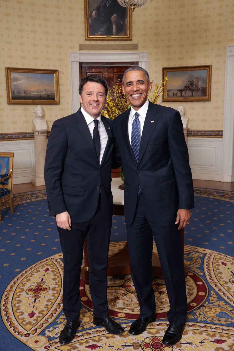 Photos: President Obama and Prime Minister Renzi share a strong friendship  | by Italy in US | Medium