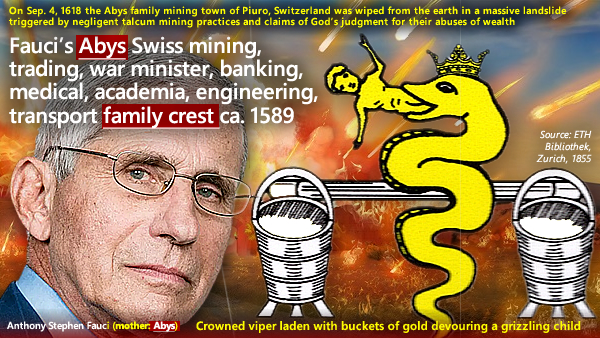 AFI. (Apr. 09, 2021). Anthony Fauci: chief globalist snake oil pitchman, leader of biological and germ warfare. Americans for Innovation.